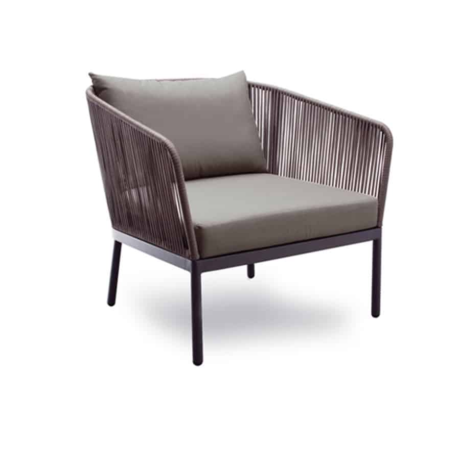 Berg Outdoor Lounge Armchair Defrae Contract Furniture