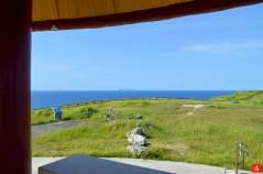 慶良間列島が見えるマハナ展望台