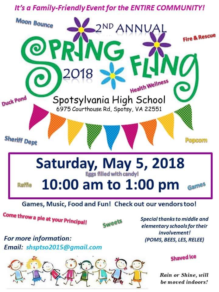 Spotsylvania High School 2nd Annual Spring Fling B1015 All of