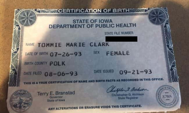 Carroll County Recorders Office Busy Issuing Replacement Birth - birth certificate