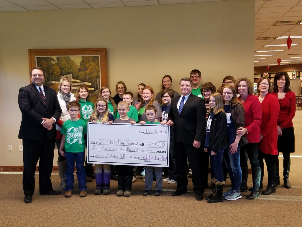 Nordby Bank F M Bank Makes Boost Donation Of 25 000 To Nordby Exhibit Hall