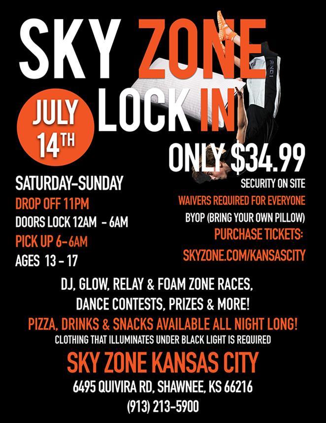 Sky Zone Lock In Hot 103 Jamz!