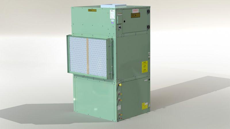 Model # DCA1500TVWH, Water Heating Assist Dehumidifier On