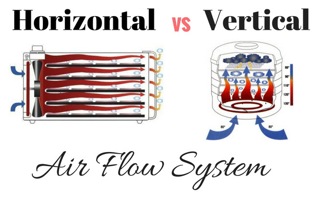 Horizontal vs Vertical Air Flow System in a Dehydrator-Which One is