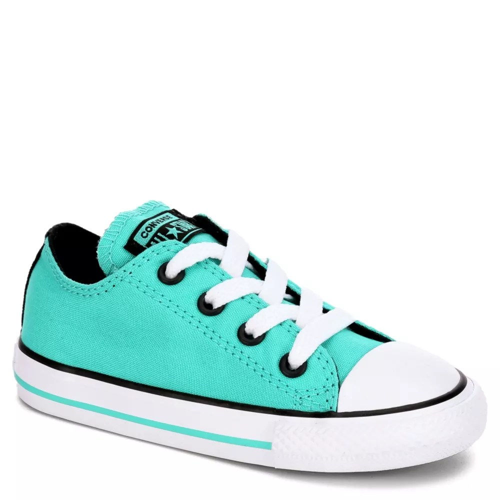 Infant Sneakers Converse Girls Chuck Taylor All Star Infant Sneaker Teal