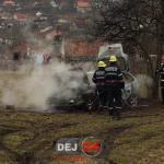 Incendiu autoturism Ocna Dej (2)