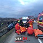 Grav accident Fundatura DN1C