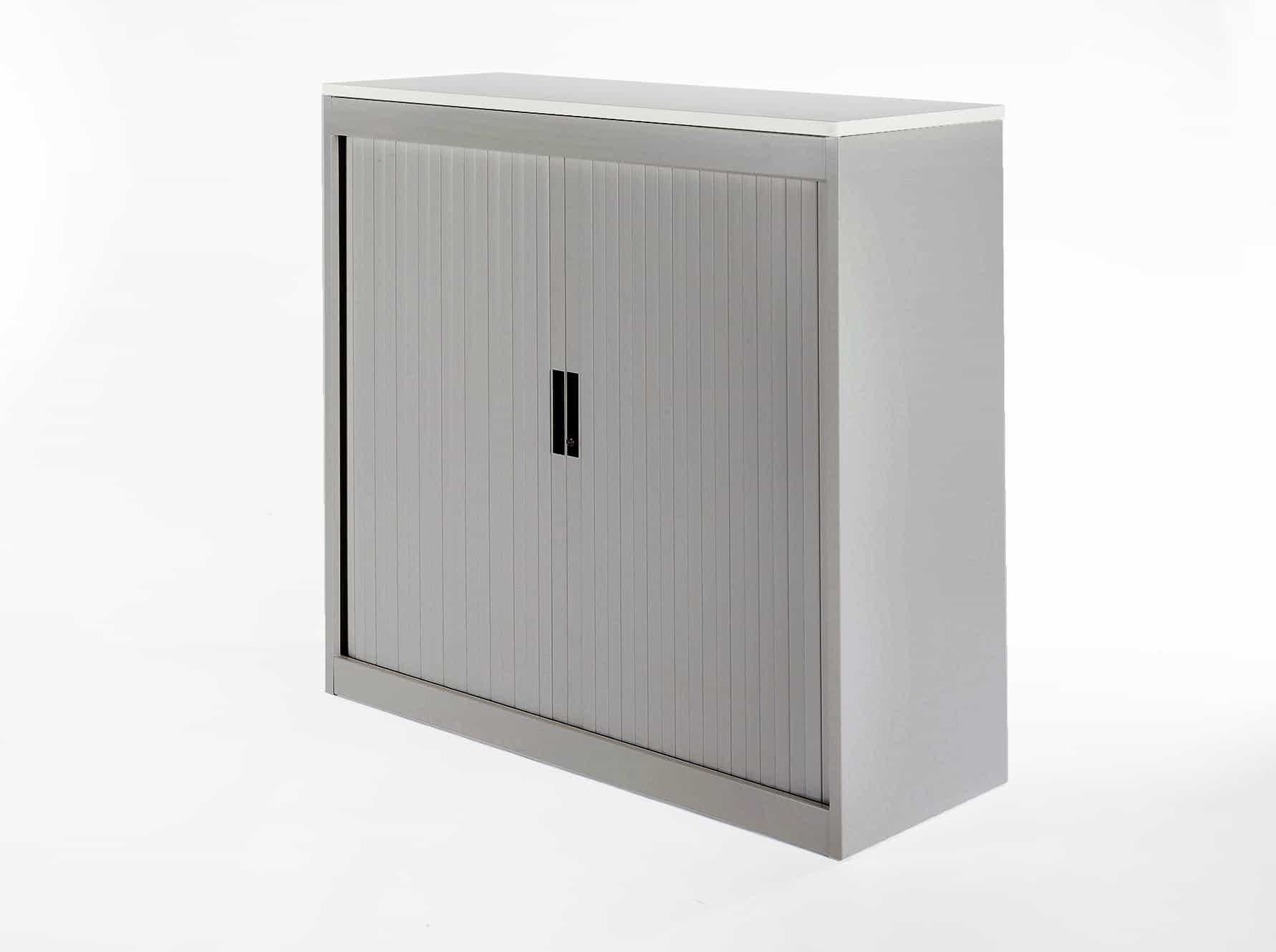 Roldeur Voor Kast : Roldeur kast roldeurkast inofel 105 x 120 x 45 cm zwart eiken top