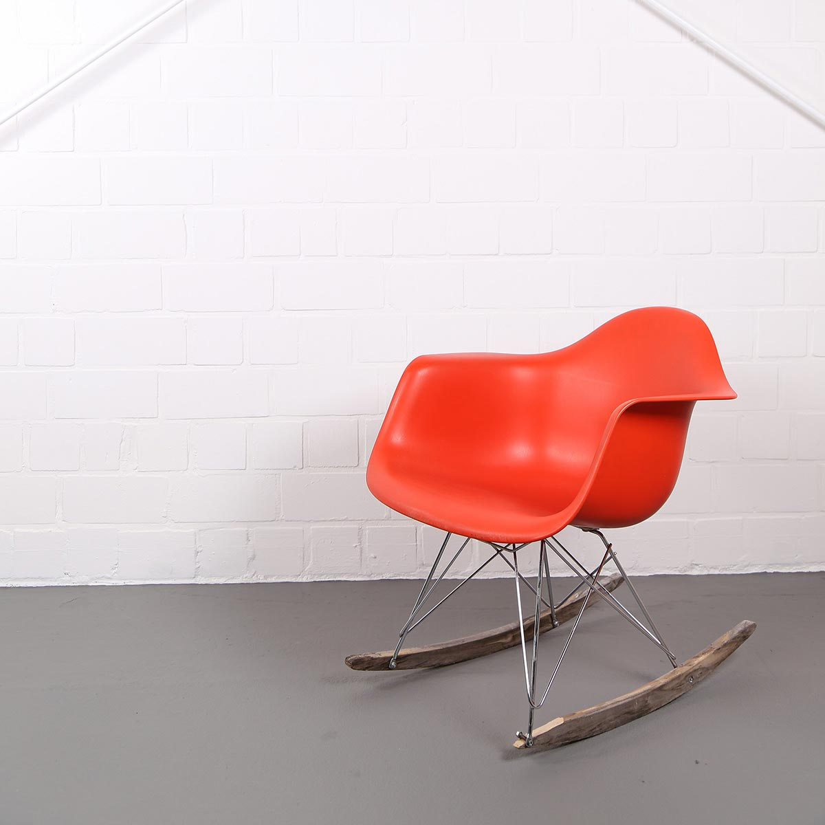 Charles Eames Vitra Vitra Charles Eames Rocking Chair Rar Orange Dekaden