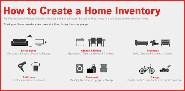 Do you have a home inventory? DeKalb County Online