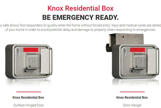 Sycamore Fire Department Residential Knox Box Loan Program