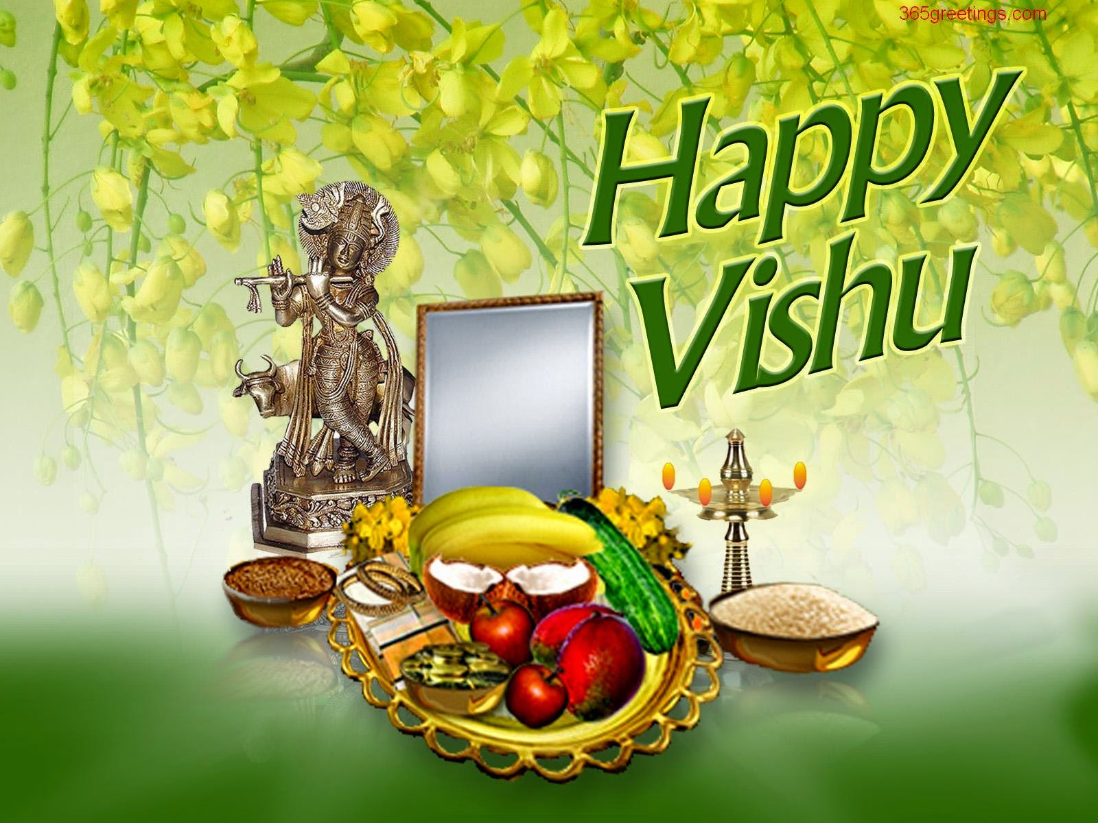 Vishu Hd Wallpapers Happy Vishu Kani 2018 Wishes Quotes Messages Sms Whatsapp