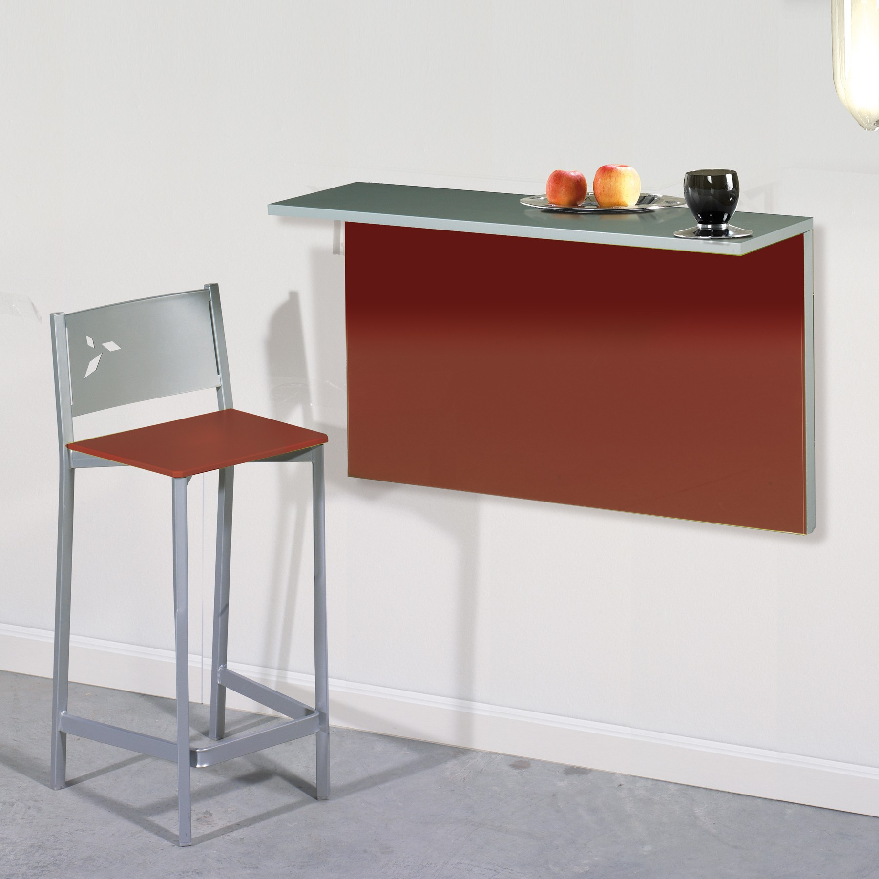 Mesa Plegable A Pared Mesa De Cocina Plegable De Pared Con 2 Posiciones Dkg