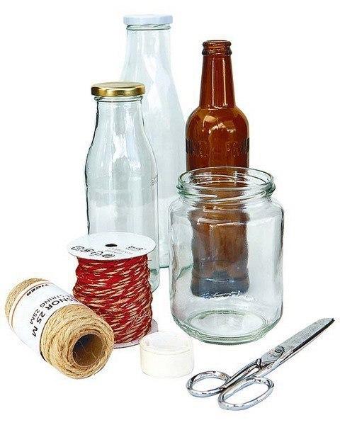 Briefe Dekorieren Anleitung : Flaschen mit schnur dekorieren anleitung dekoking