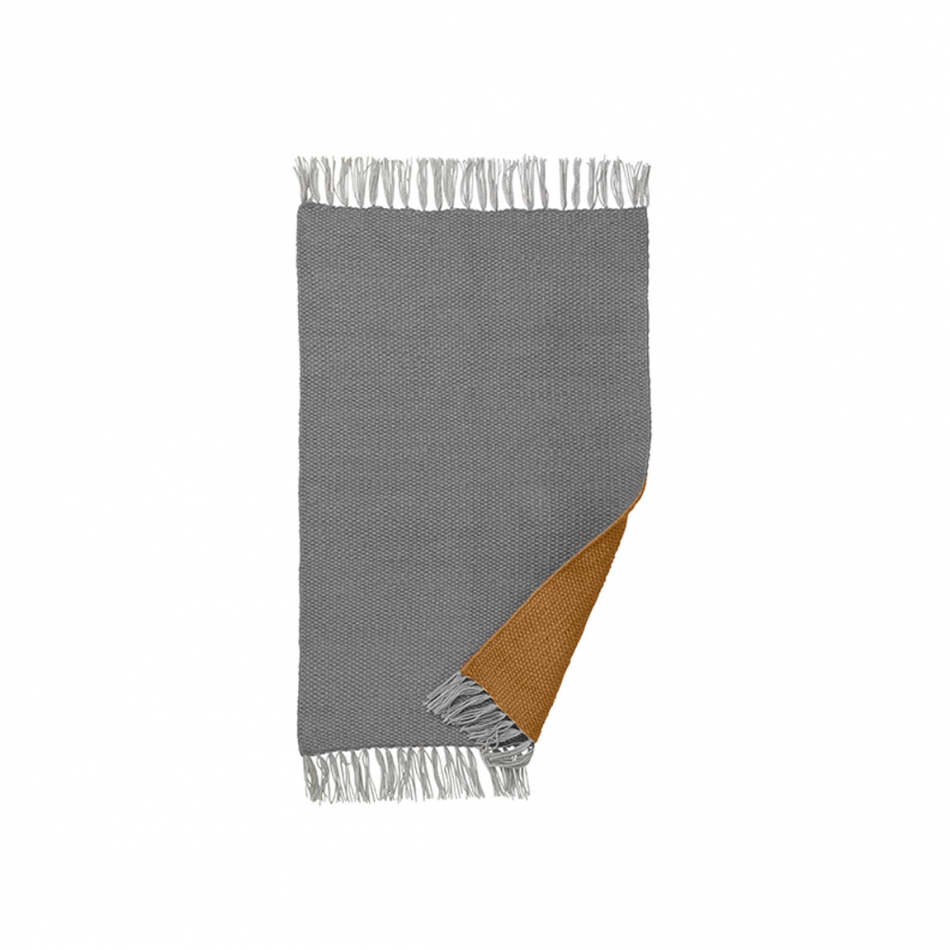 Badezimmer Curry Ferm Living Teppich Nomad Rug Curry 60x90 Cm
