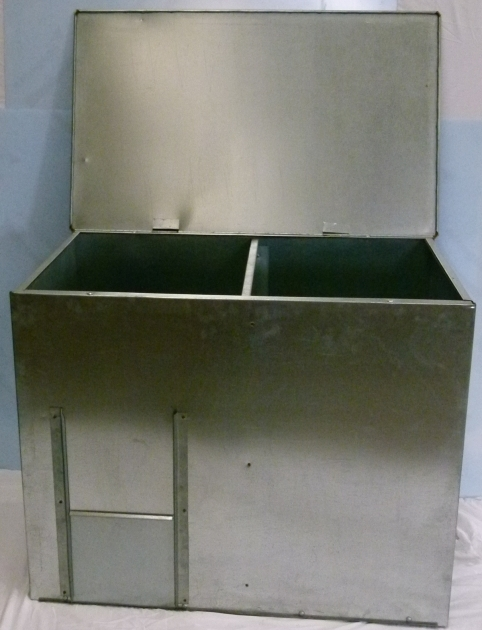 Picture Of Galvanized Corn Animal Feed Storage Bin Wrought