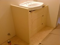Image of Attractive Under Pedestal Sink Storage Cabinet ...