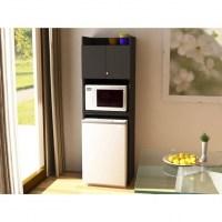 Image of Refrigerator Storage Black Stipple Walmart Mini ...