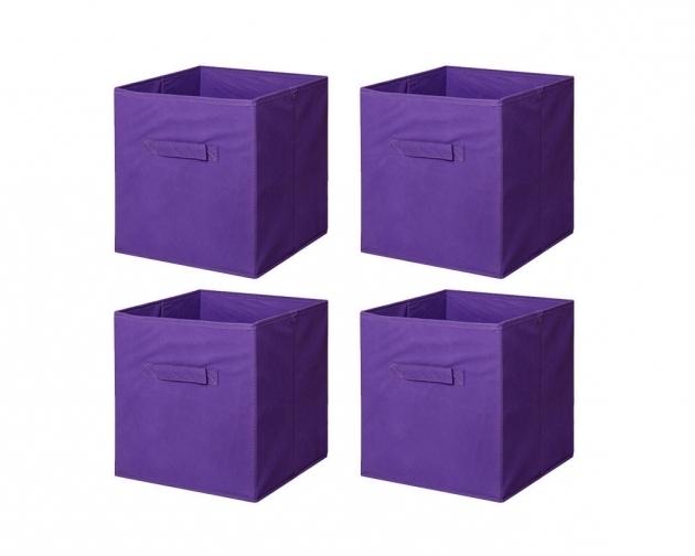 Purple Storage Bins Storage Designs