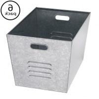 Galvanized Storage Bins - Storage Designs