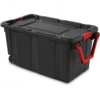 Plastic Storage Containers With Wheels - Storage Designs