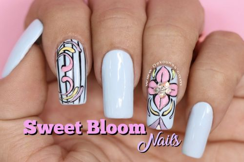 Portada Uñas sweet bloom
