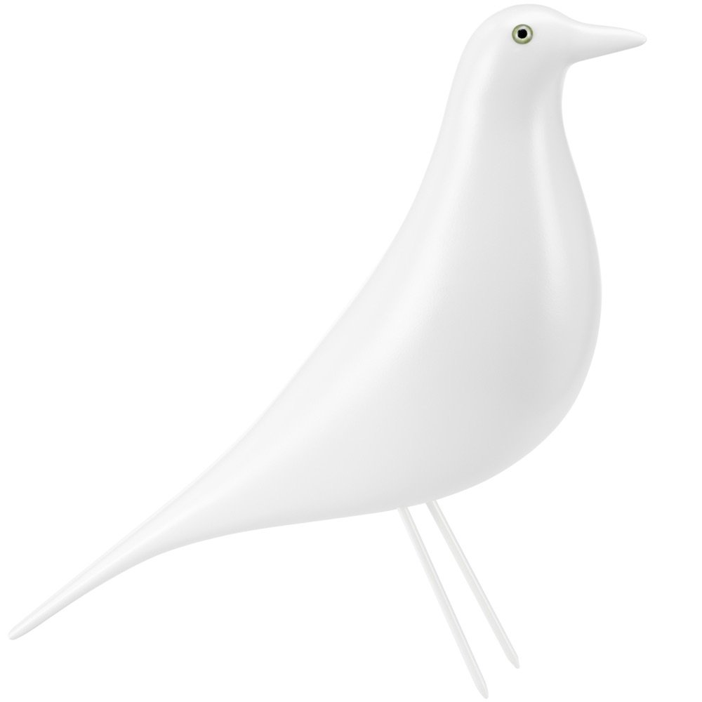 Eames House Bird Vitra Eames House Bird Wit Limited Edition