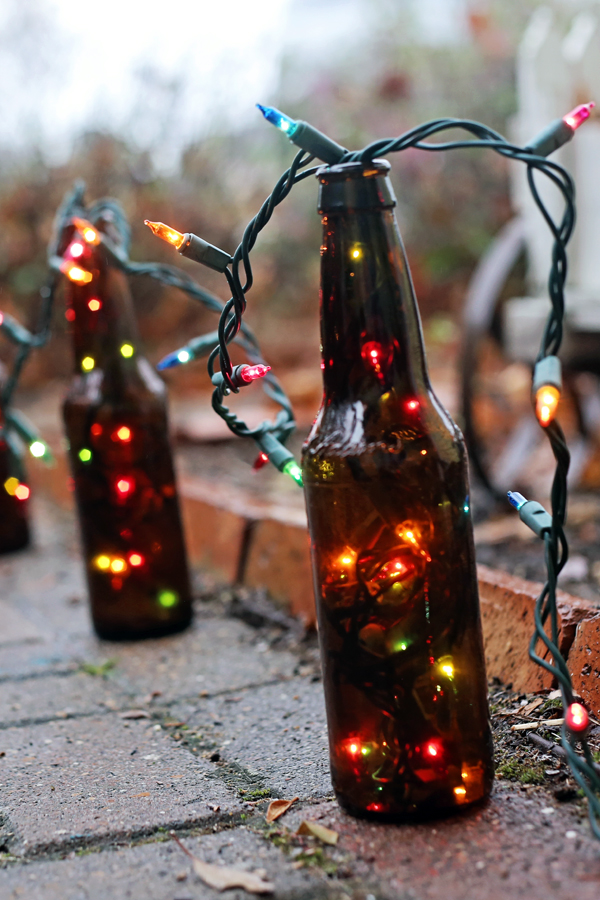 Chicken Dinner Cool Beer Bottle Upcycle Diy Projects - Delish
