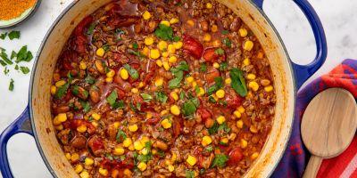 Easy Taco Soup Recipe - How to Make Taco Soup