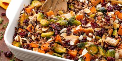 Best Healthy Chicken Casserole Recipe - How to Make Healthy Chicken and Rice Casserole