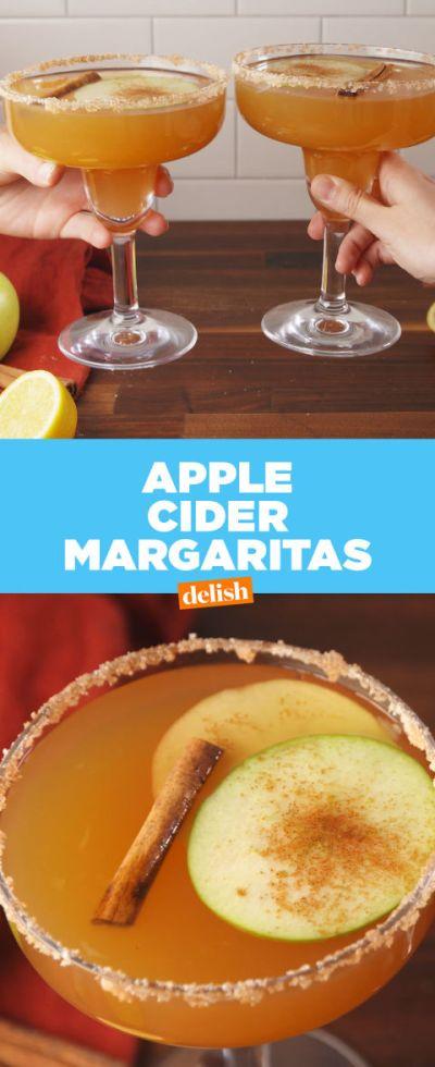 Best Apple Cider Margarita Recipe - How to Make Apple Cider Margaritas