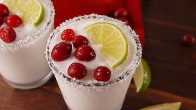 White Christmas Margaritas Video - How to Make White Christmas Margaritas Video
