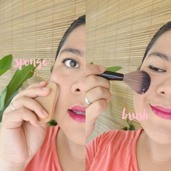 apply with sponge or brush - emina cream blush cheeklit peach