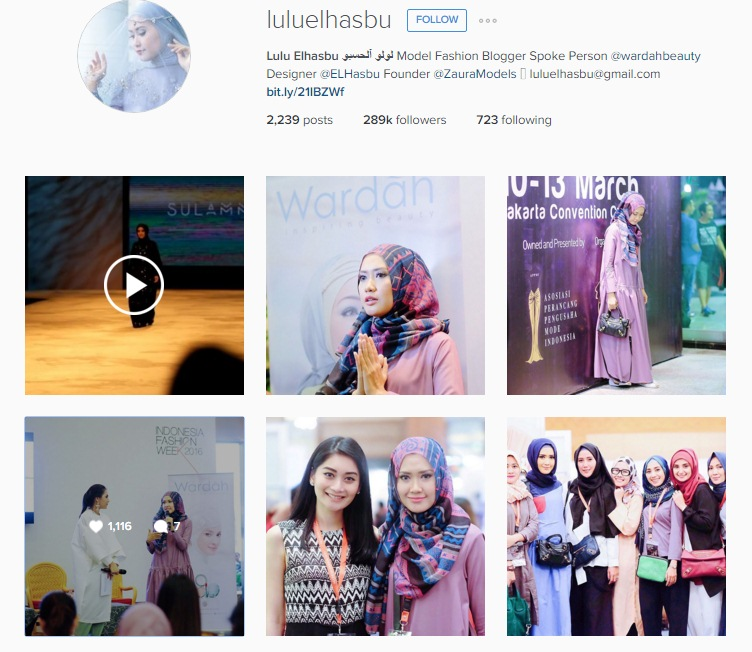 Lulu Elhasbu Instagram