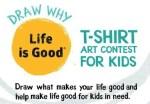 Life Is Good: Inspiring Optimism in Kids (Art Contest!)