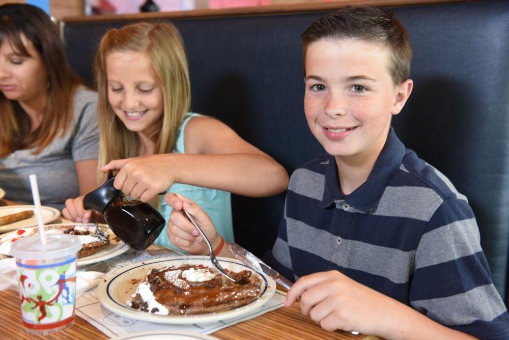 Kids eat free at IHOP