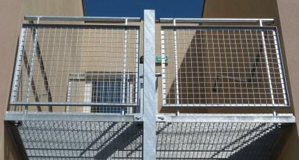Escalier extérieur galvanisé Manosque