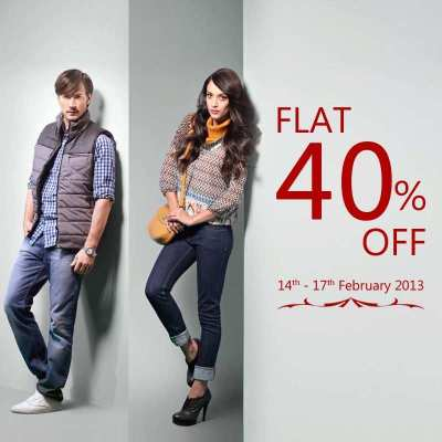 Valentine's Day Sale - Flat 40% off at Wills Lifestyle ...
