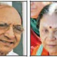 Gujarat NEW CM Anandiben's husband was interested to join AAP