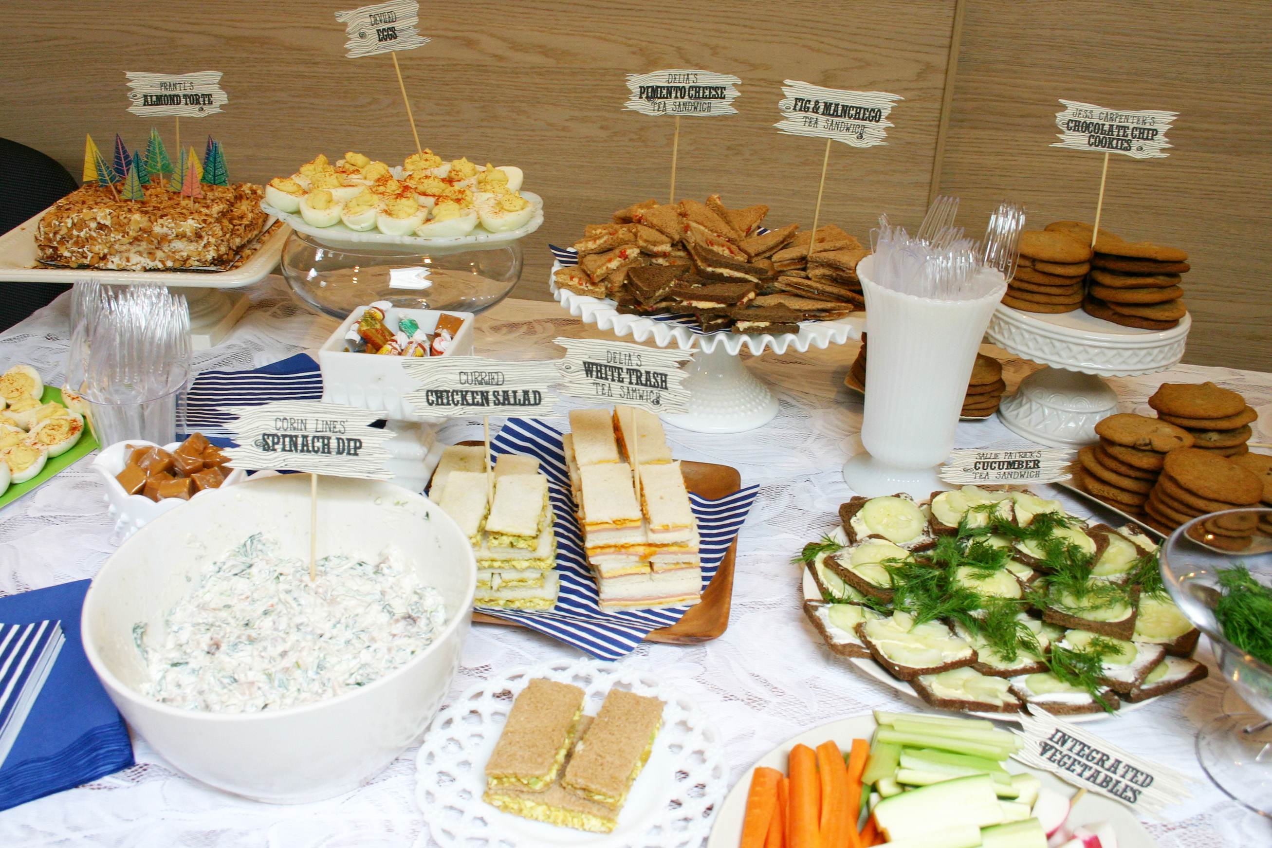 Fullsize Of Baby Shower Food