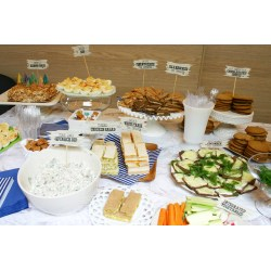 Small Crop Of Baby Shower Food