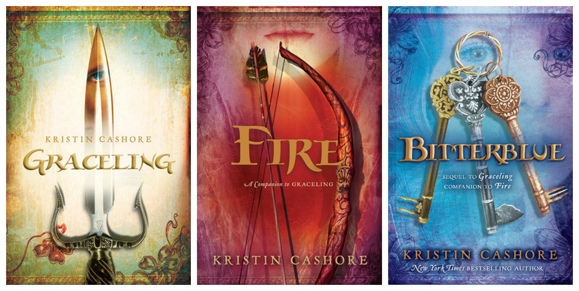 Bittersweet Libro Series Review Graceling Realm Graceling Fire Bitterblue