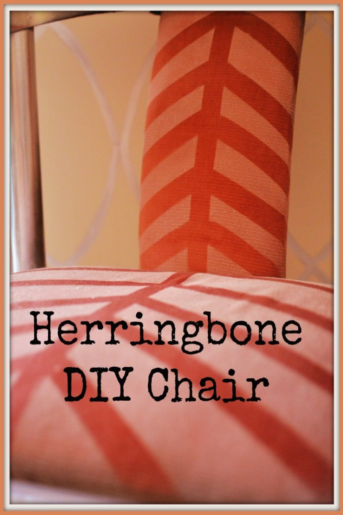 Herringbone Chair Drab to Fab