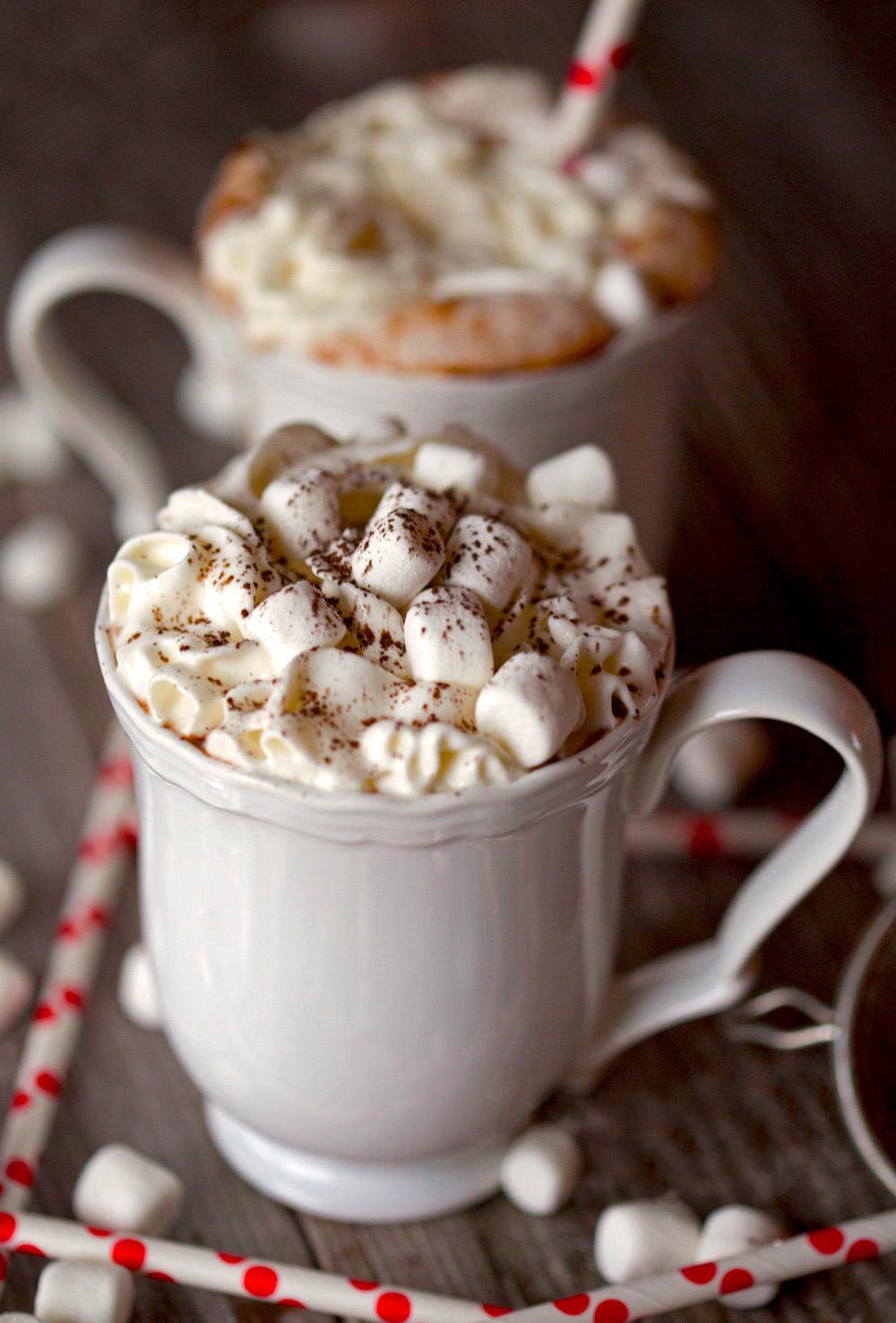 Cute Coffee Mug Wallpaper Sipping Hot Chocolate