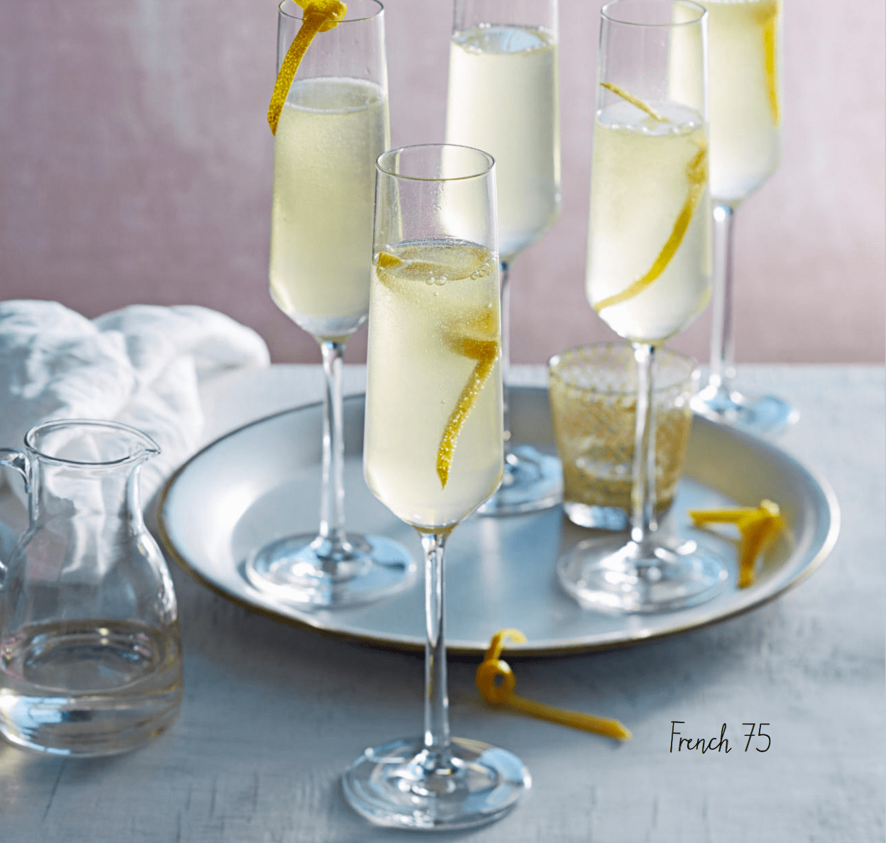 Welkomstdrankje Recept Een Perfect Alternatief Voor Champagne French 75 Cocktail