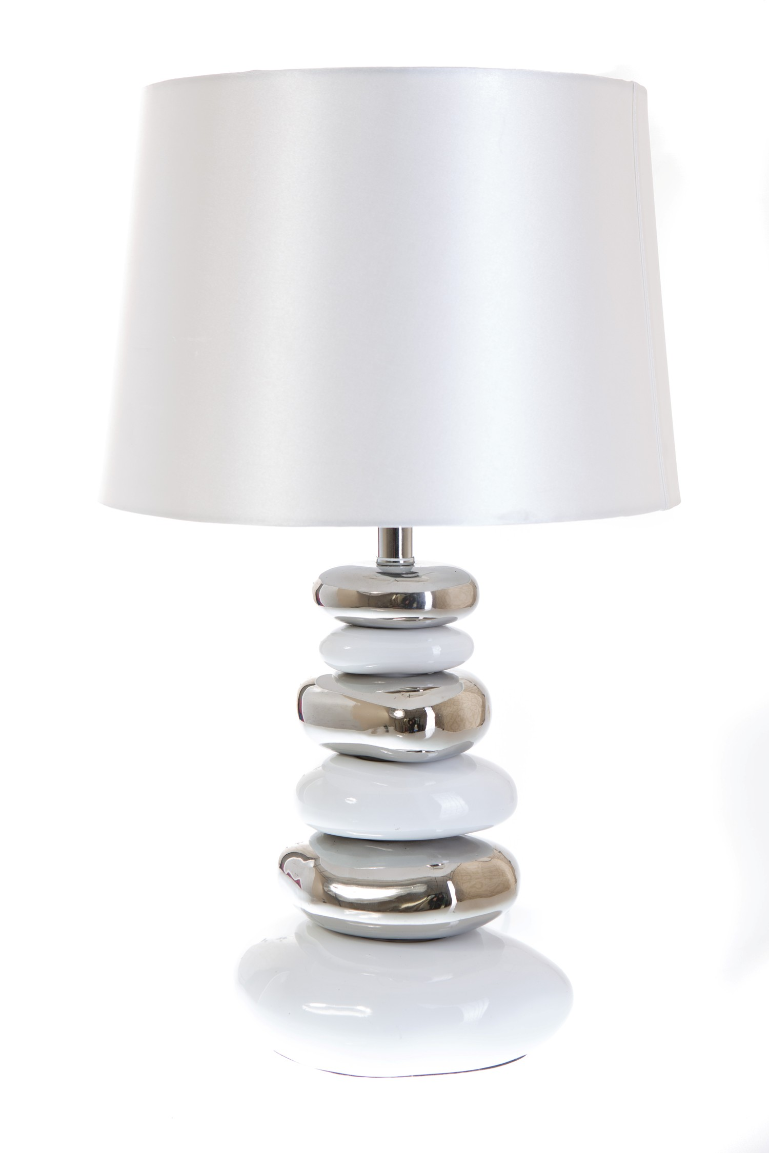 Modern Table Lamps Uk Modern White Pebble Table Lamp C W Shade