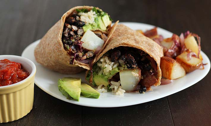 The Vegan Breakfast Burrito