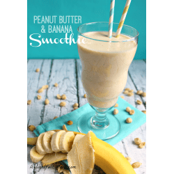 Small Crop Of Peanut Butter Smoothie