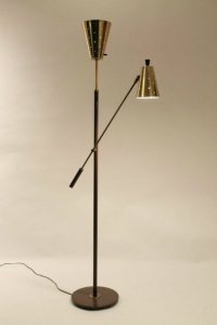 TRENDZINE: HOW TO DECORATE WITH MID-CENTURY MODERN FLOOR LAMPS