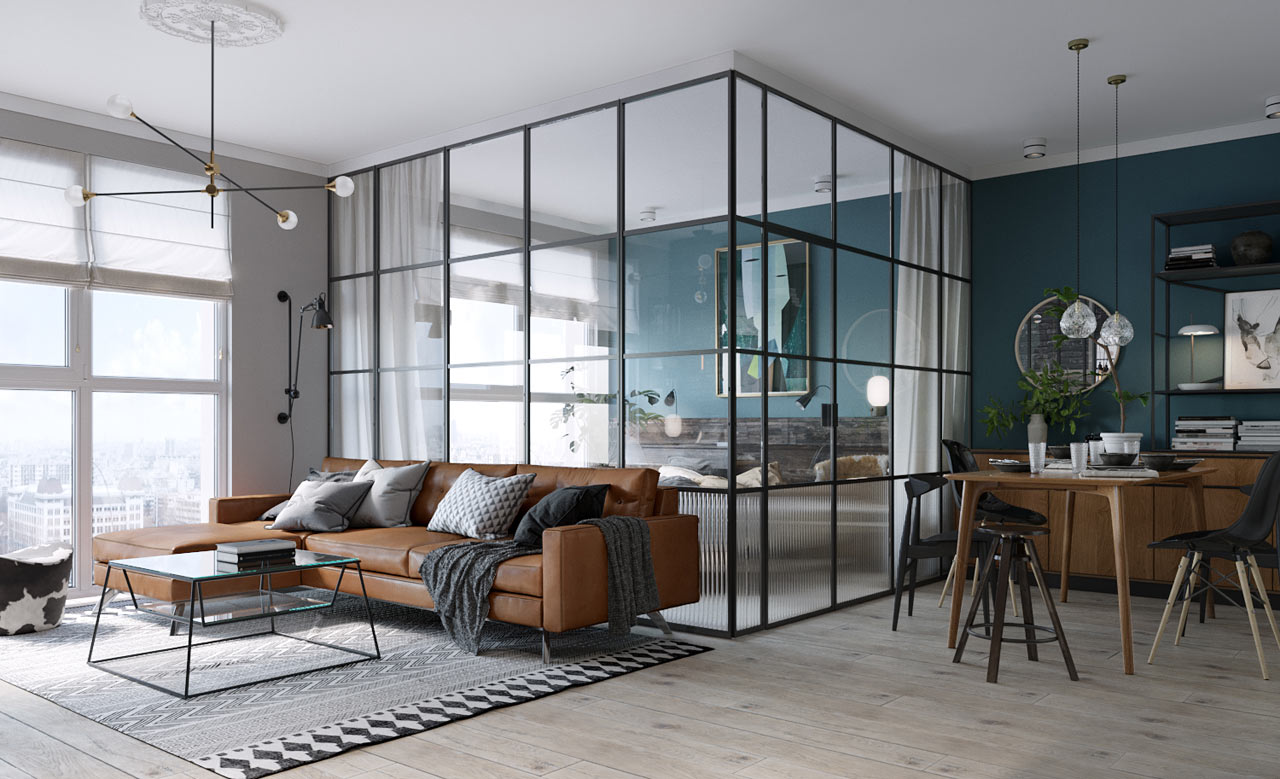 Open Glass Wall Room Of The Week An Open Plan Living Space With A Glass